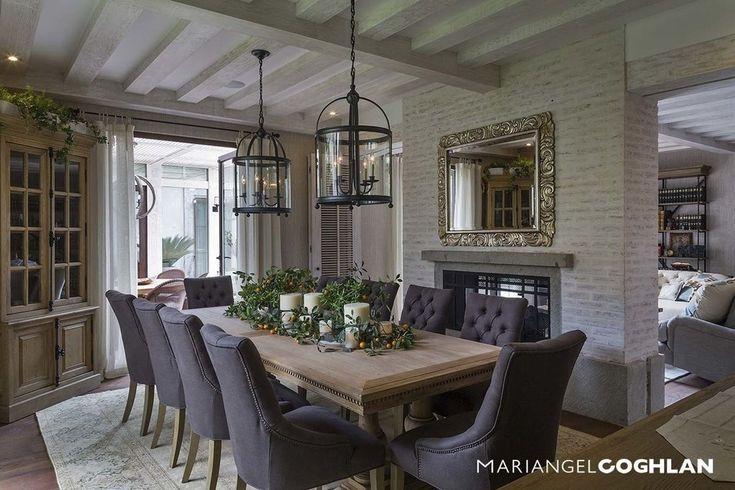 Comedor : Comedores modernos de Firma de Interiorismo Mariangel Coghlan