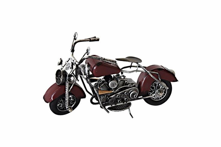 Yang's Model Vintage Motorcycle Collectible Handy Made