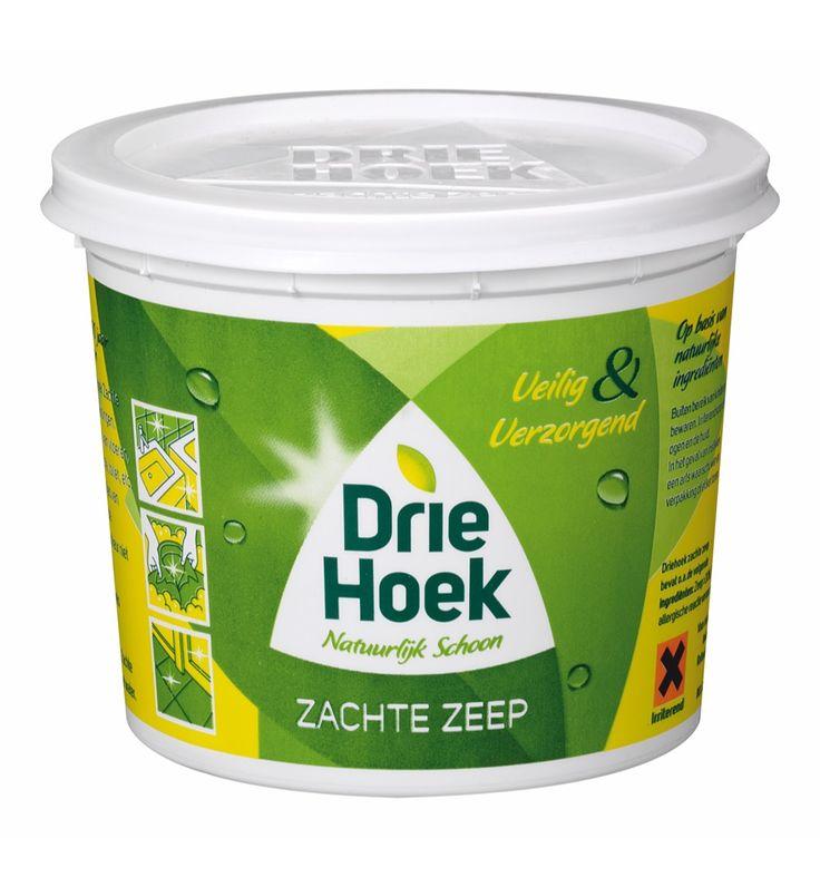 Tegenwoordig wordt de milieuvriendelijke groene zeep niet meer gebruikt terwijl die vele toepassingen heeft ten opzichten van andere schoonmaakartikelen.