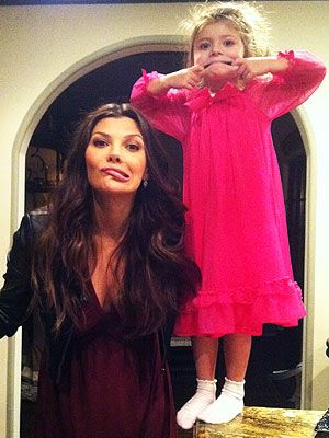 Our dazzling pink night gown on ALi Landry's Blog.,,cute.