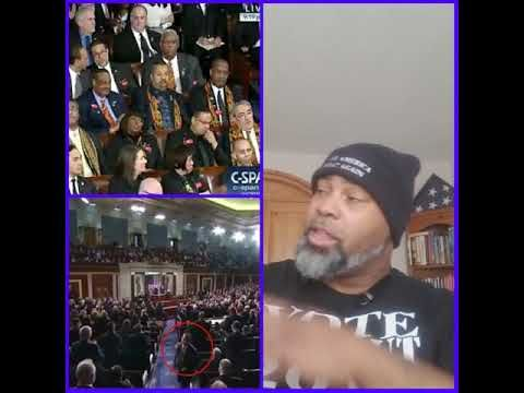 State of The Union Address. the losers were the Congressional Black Caucus which are worthless - YouTube