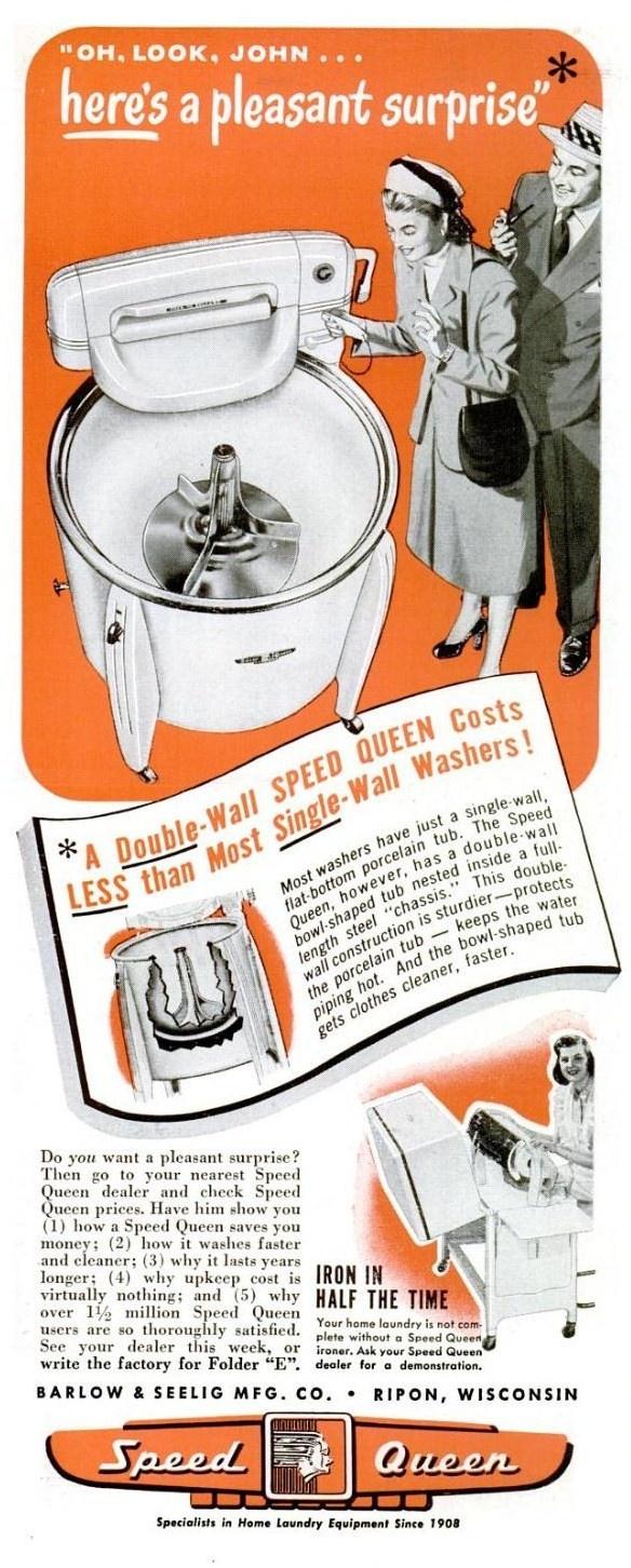 Lave-linge - Machine à laver - Electroménager vintage /  www.nesridiscount.com
