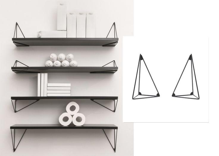 Pythagoras hyllkonsoll