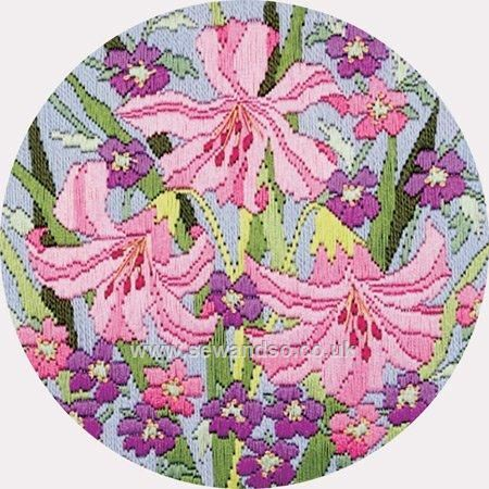 Twilleys of Stamford Lilies Longstitch Kit