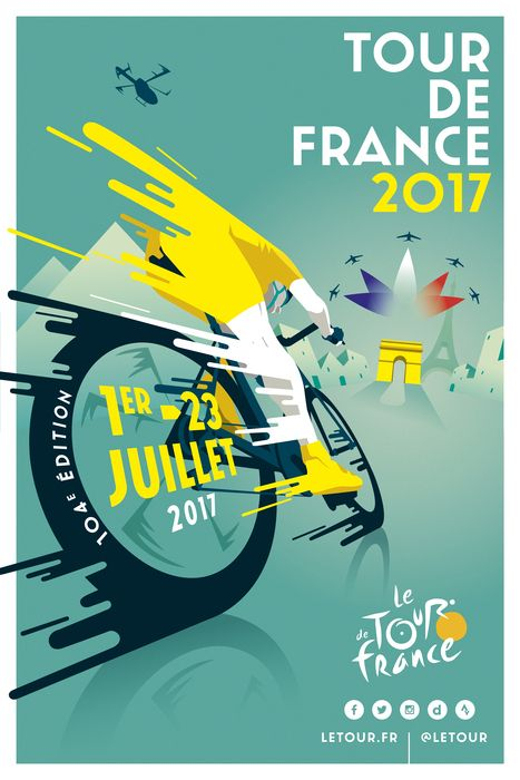 VOTE IMAGINE TOUR DE FRANCE Raphaël Teillet, #art #graphicdesign #design #color #collage #zeichnung #illustration #drawings #sketch #draft
