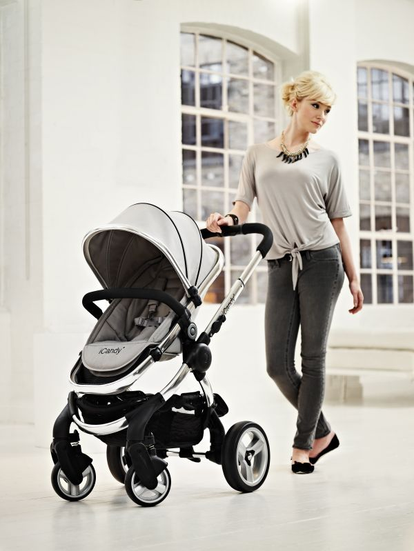 Coming Soon!  iCandy Peach Pushchair in Silver Mint