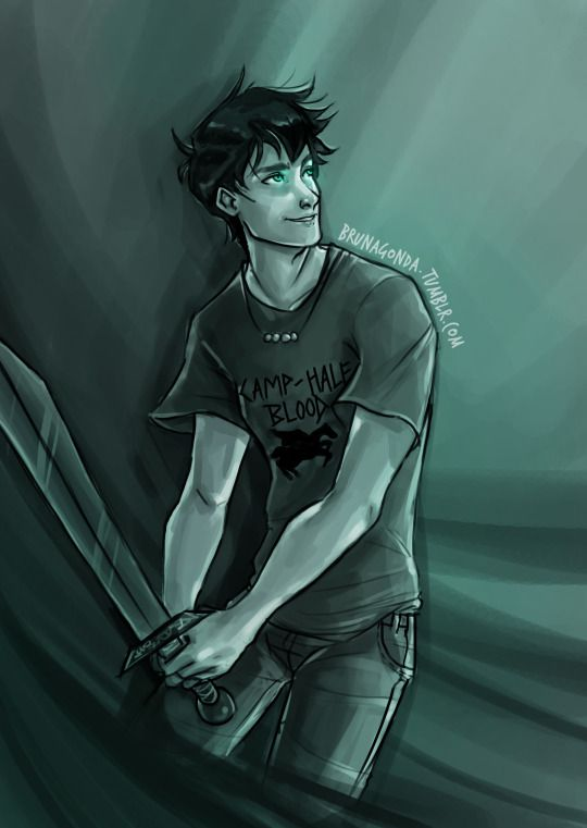 Percy Jackson ★BrunaGonda-Art★