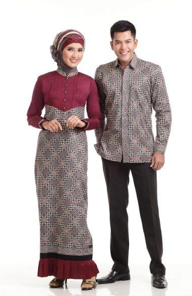 baju-batik-muslim-couple-murah