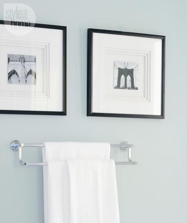 Bathroom design: Adding artwork {PHOTO: Tracey Ayton}