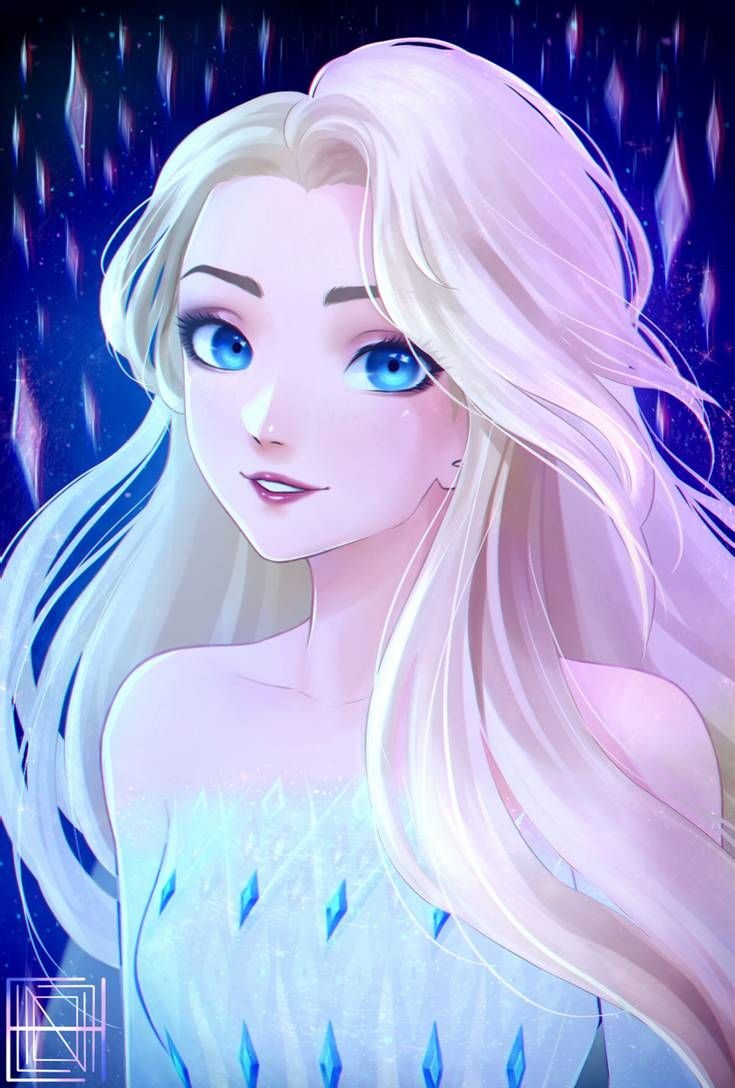 Frozen 2 Elsa By Doeleng On Deviantart In 2020 Elsa Anime Disney Princess Art Disney Frozen Elsa