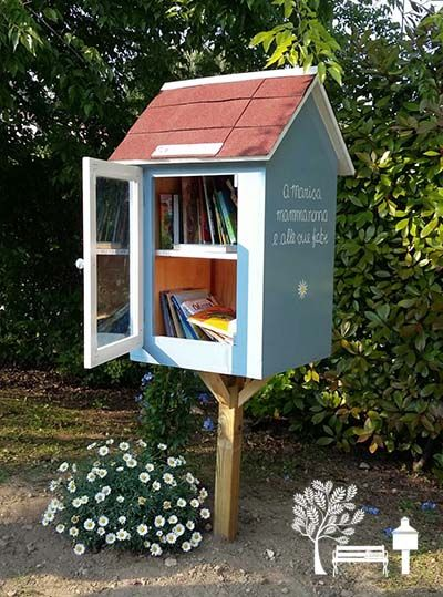 How to start a Little Free Library book exchange