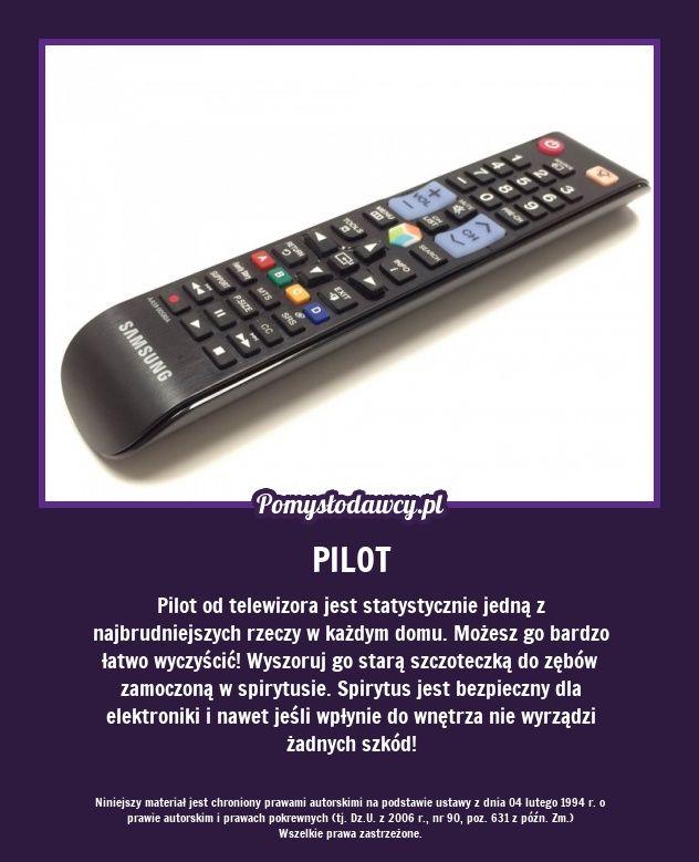 PRAKTYCZNY TRIK NA BEZPIECZNE WYCZYSZCZENIE PILOTA OD TELEWIZORA!