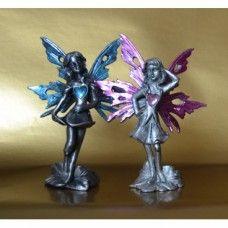 Anděl LÁSKY růžový a modrý - pár
