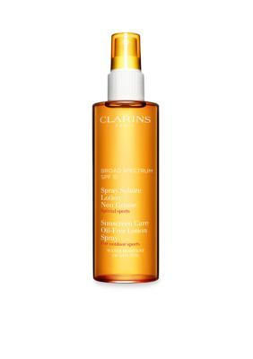 Clarins Men's Sun Care Oil-Free Lotion Spray Moderate Protection Uvb/Uva 15 -  - One Size