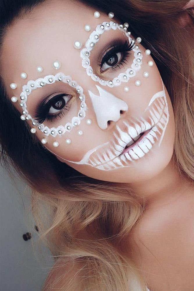 18 pretty halloween makeup ideas youll love - Fun Makeup Ideas For Halloween