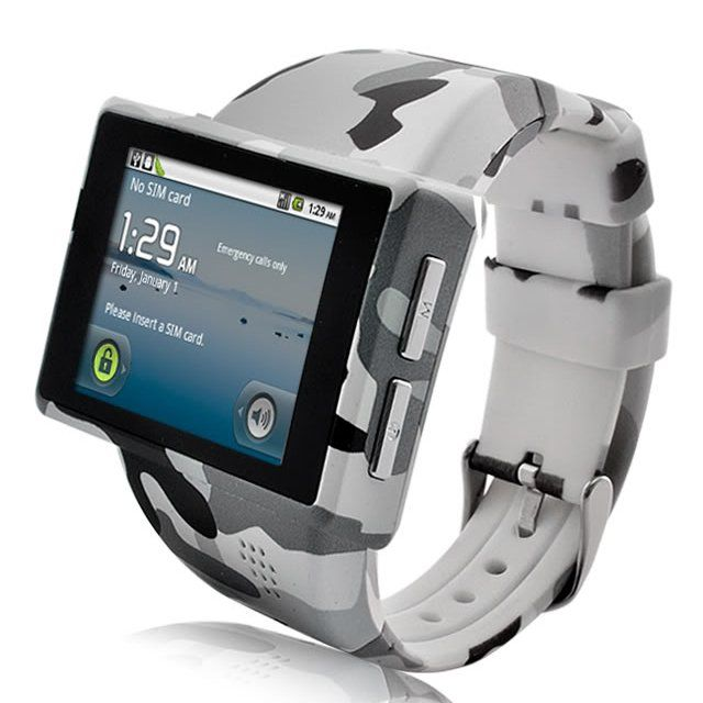 Camo Android Phone Watch.