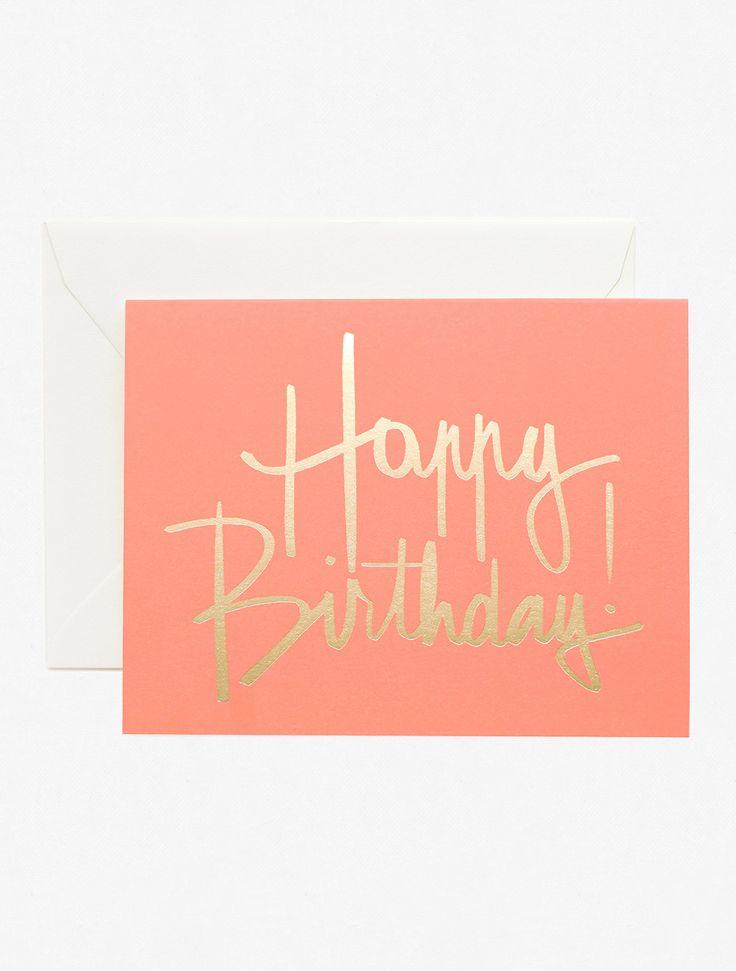 Garance Doré Boutique - Happy Birthday Rose Card