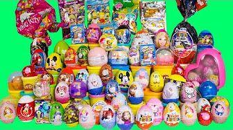 Huevos Sorpresa de Kinder, Frozen, Peppa Pig, Minnie, Tortugas Ninjas…