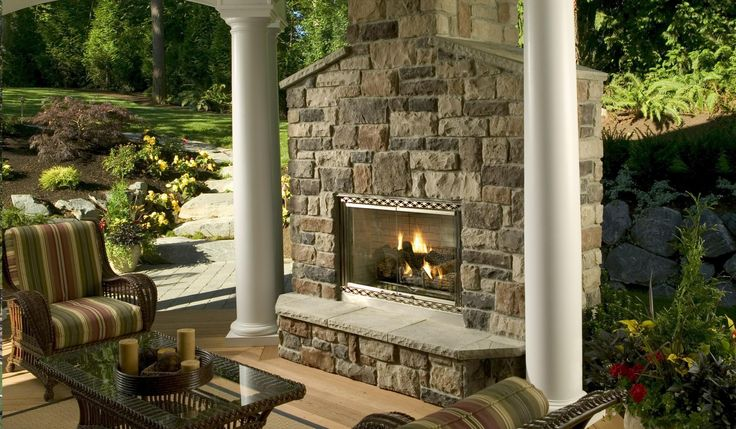 23 Best Outdoor Fireplaces Images On Pinterest Outdoor