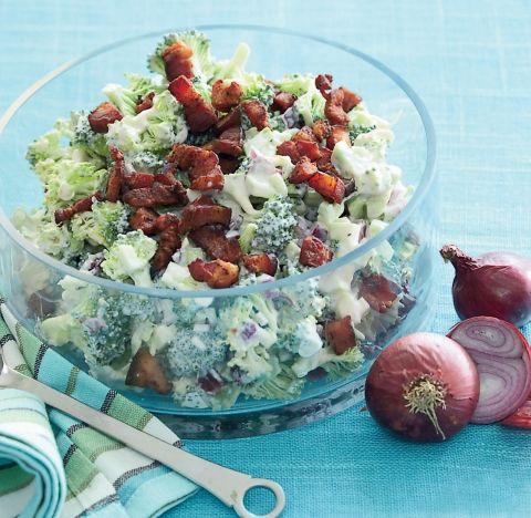 Broccolisalat med bacon FJ 46 2012