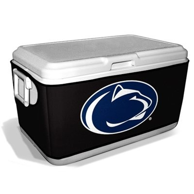 Penn State Nittany Lions 48-Quart Cooler Coozie - Black