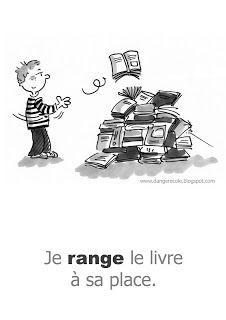règle à la bibliotjèque