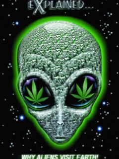 Why Aliens Visit Earth Marijuana Picture