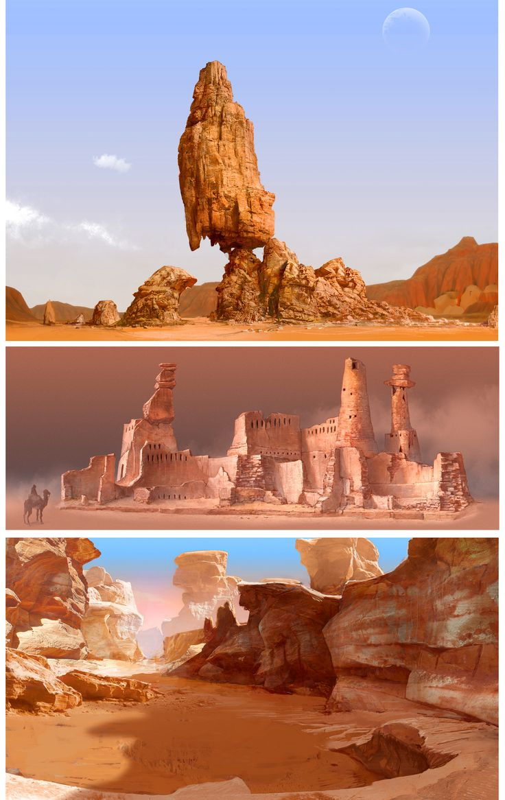 ArtStation - Canyon 03, yasu _