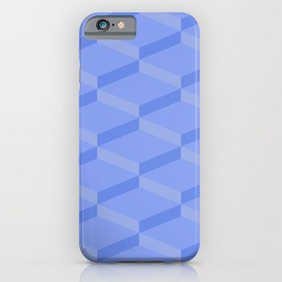 3 D Blue Effect iPhone & iPod Case by Refreshdesign