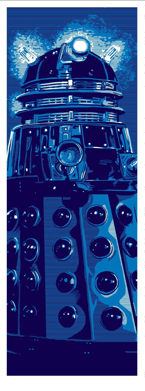 Doctor Who Dalek by Tim Doyle