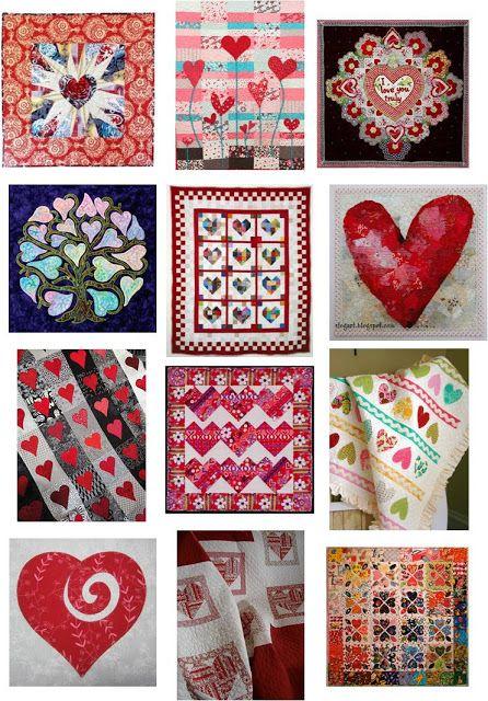 Quilt Inspiración: Día libre Patrón: Hearts and Valentines Parte 1