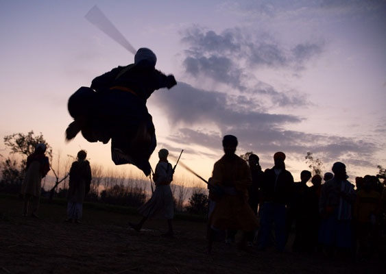 Flying Sword ~ Flying Singh ~ Most Ancient Martial Arts called Gaka
