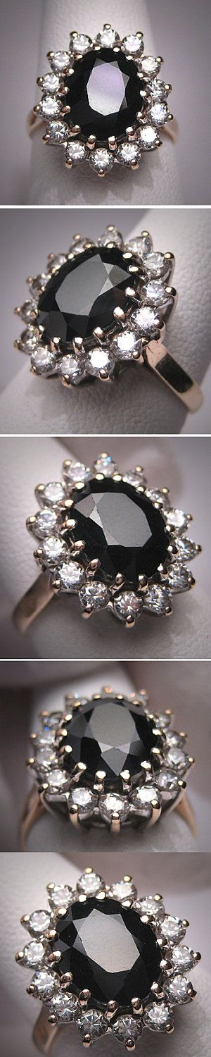 Onyx and diamonds. I could go for onyx with a few diamonds and the rest of the diamonds to dress up the wedding band