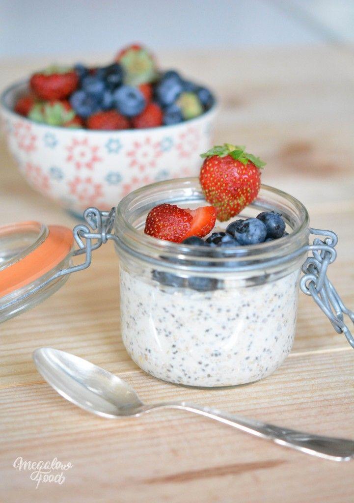 Chia au lait végétal + fruits pour le dessert ou le petit dejeuner - Webdistrib.com