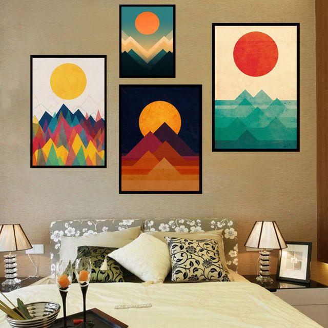 les 25 meilleures id es de la cat gorie toile murale sur pinterest peinture textur. Black Bedroom Furniture Sets. Home Design Ideas