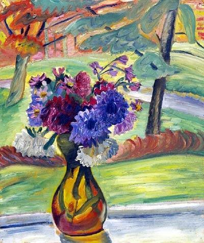 Vase of Flowers - Prudence Heward