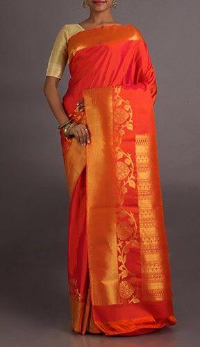 Rishita Wave Bel Dharmavaram Wedding Silk Saree