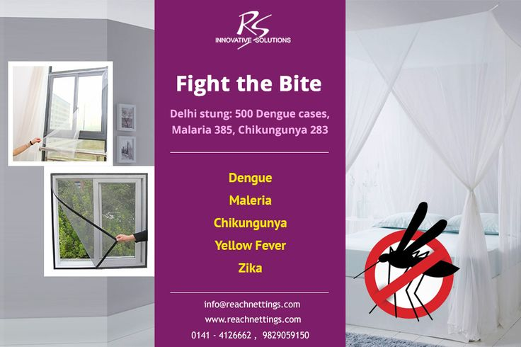 Over 130 fresh cases of dengue have been reported in Delhi. Death toll from mosquito diseases is rising day by day. Reach Nettings provides efficient solutions for mosquito diseases. Our quality range of mosquito & insect screens are ideal for meeting different safety requirements.  #Dengue #Malaria #YellowFever #Chikungunya #Zika #Mosqutio #protection #safety #nettings #MosquitoNets #ReachNettings #FightTheBite