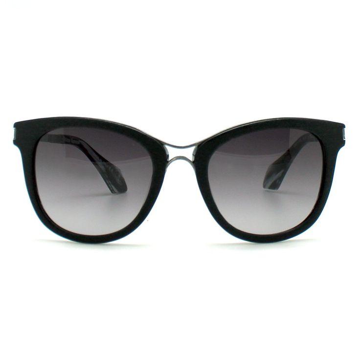 Vivienne Westwood VW913-S02 Belt Buckle Sunglasses in Wood Black. Belt Buckle Sunglasses. CR39 optical graded lenses. Italian acetate frame. 5 barrel French comotec hinges. Comes with sunglasses case, microfiber clothes.