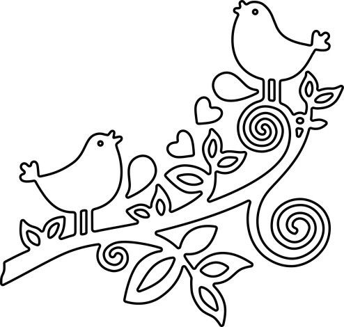 Impression Obsession Love Birds Die