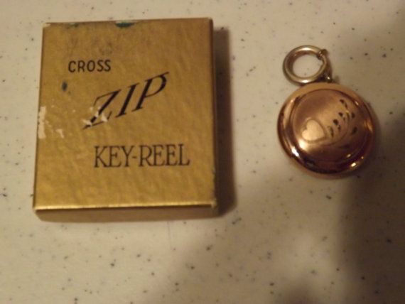 Hey, I found this really awesome Etsy listing at https://www.etsy.com/listing/204756282/cross-zip-key-reel-in-original-box-key
