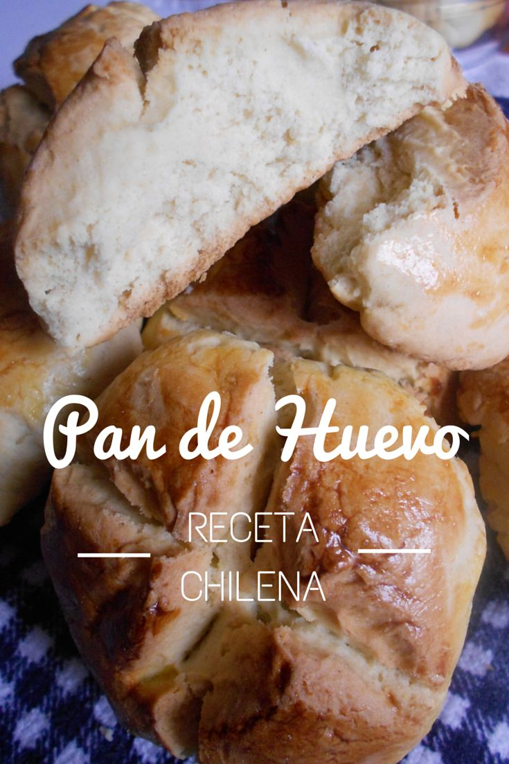 Receta para Pan de Huevo. Típico Chileno :)