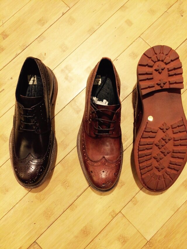 Brogue Style SHOES Made in Italy