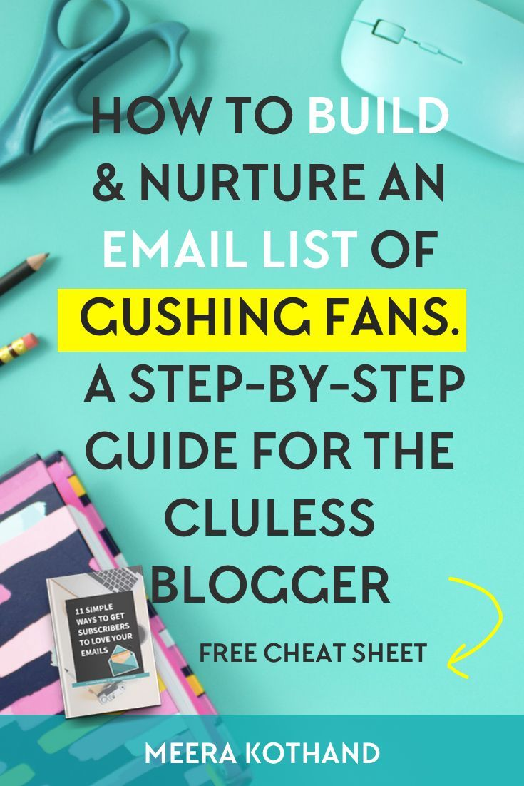Thinking of building your email list? Need a step by step strategy guide with ideas and tips on how to grow your list, get subscribers and nurture them? In this post I walk you through how to get started with your email list from scratch. Look out for an alert just above step #6 where most people fall off the email bandwagon.