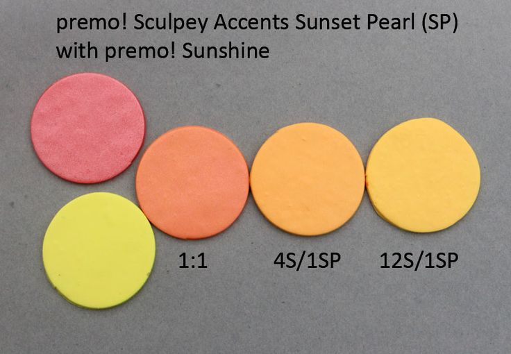Premo! Color Recipes from Syndee Holt - Sunset Pearl & Sunshine