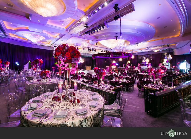 Beverly Wilshire Beverly Hills Indian Wedding Reception | Yuvi & Harleen