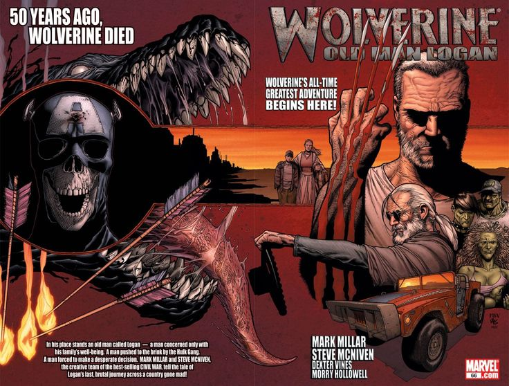 """Old Man Logan"" (Wolverine vol. 3 #66-72, Wolverine Giant Size Old Man Logan)"