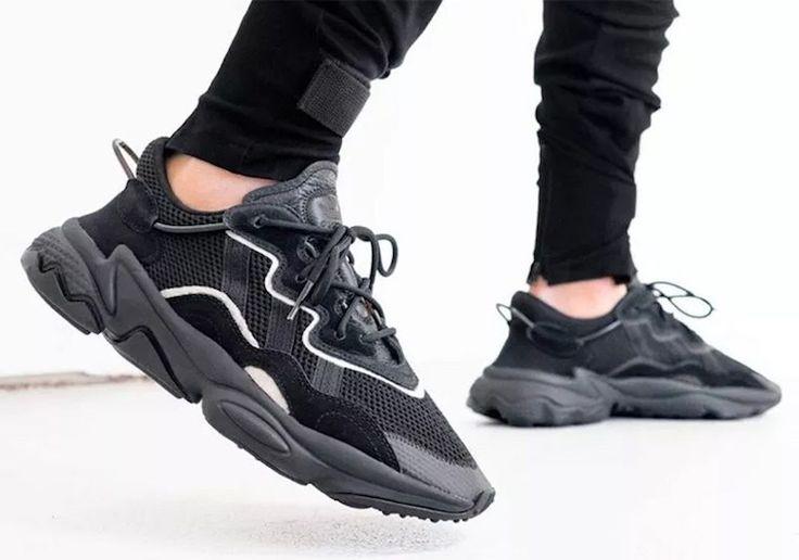 Adidas Ozweego adiPRENE Triple Black | Sneakers, Chaussure sport ...