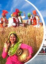 Punjab; Bhangra Dance