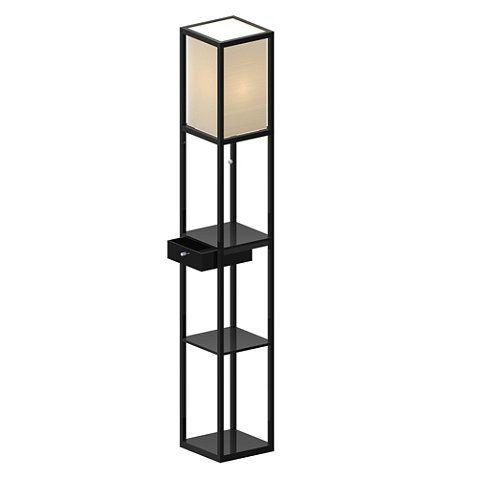 22 best Floor Lamp With Shelves images on Pinterest   Floor lamps ...
